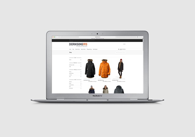 Didriksons Onlineshop