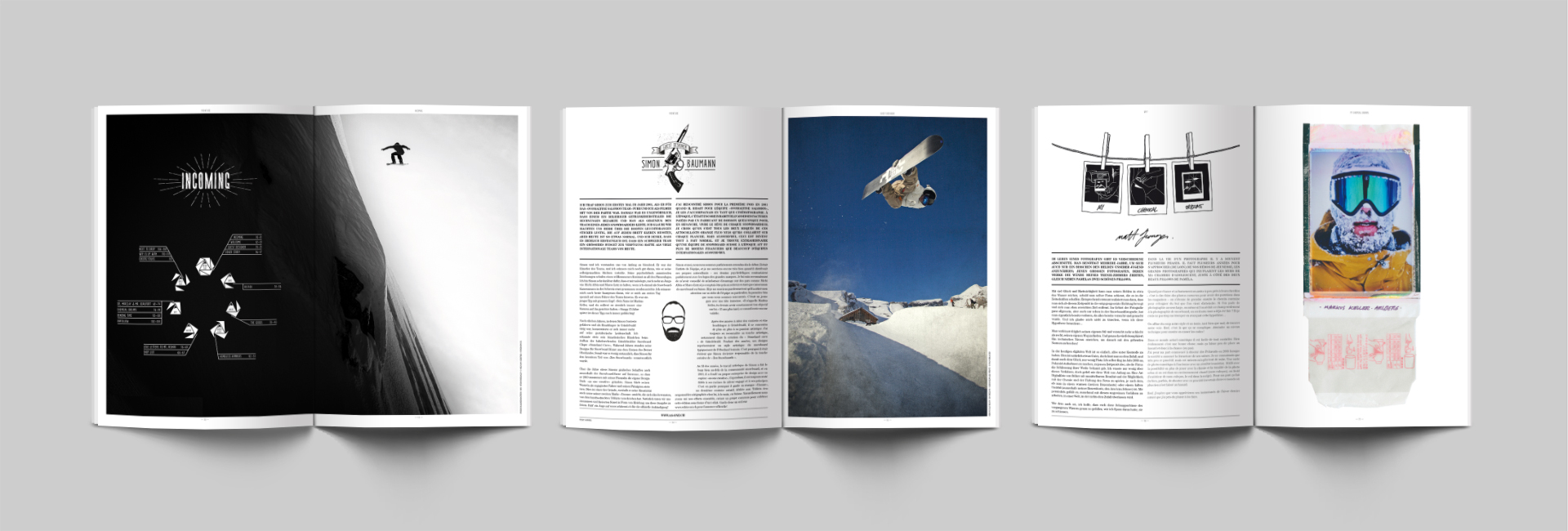 Guest Designer for Whiteout Snowboard Magazine